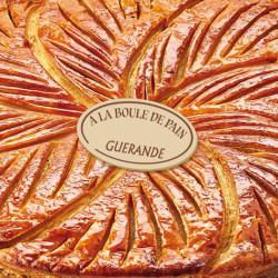 Label de forme de ovale pour signer ses galettes des rois - Artisan boulanger pâtissier