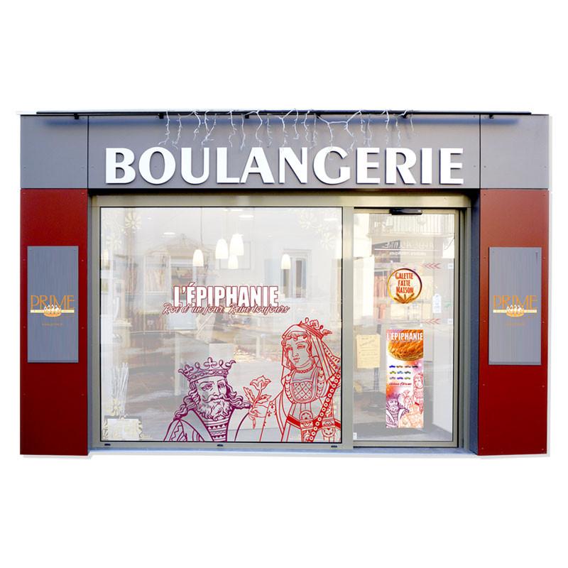 """Ambiance Magasin """"ROI D'UN JOUR, REINE TOUJOURS"""" - Kit pour Épiphanie"""