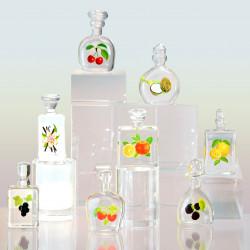 Précieux Flacons - Série de 8 fèves en verre - Prime
