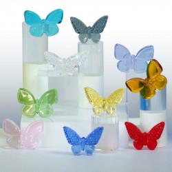 Nuée De Papillons - Magnifique série de 10 fèves en Verre - Prime