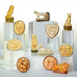 Le Cœur & l'Écorce - Série de 10 fèves en porcelaine - Prime