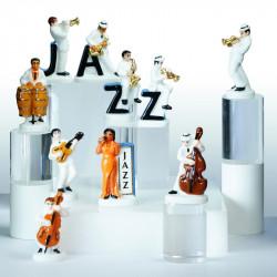 100 Ans De Jazz - Série de 10 fèves en porcelaine - Prime