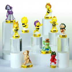 Maya L'abeille - Série de 10 fèves en porcelaine - Prime