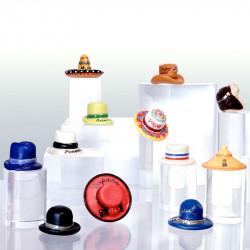 Chapeaux du Monde - Série de 12 fèves en porcelaine - Prime