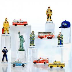 Heroic NY 2001 - 2021 - Série de 12 fèves en porcelaine - Prime