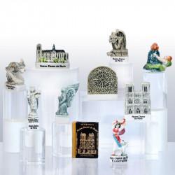 Notre-Dame de Paris - Série de 10 fèves en porcelaine - Prime