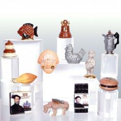 Chocolat, toute une Histoire - Série 12 fèves en porcelaine - Prime