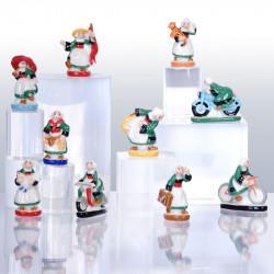 Bécassine a la Bougeotte - Série 10 fèves en porcelaine - Prime
