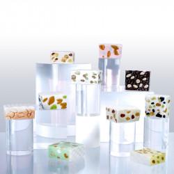 Nougats et nougatine - Série 10 fèves en porcelaine - Prime