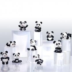 Panda Fun - Série 10 fèves en porcelaine - Prime