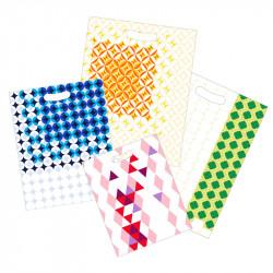 Magnifiques sacs à galette au design délicieusement rétros. 4 tailles et coloris disponibles.