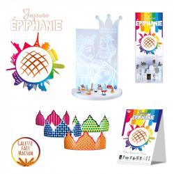 """Ambiance Magasin """"Skyline"""" - Kit pour Épiphanie 2021"""