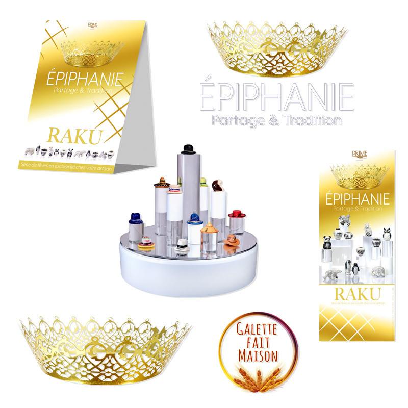 """Ambiance Magasin """"Goldie"""" - Kit pour Épiphanie 2021"""
