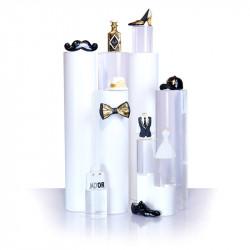 Collection haute couture - Série de 10 fèves en porcelaine - Prime