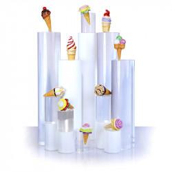 Collection fleurs de glace - Série de 10 fèves en porcelaine - Prime