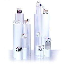 Collection Arlequin - Série de 10 fèves en porcelaine - Prime