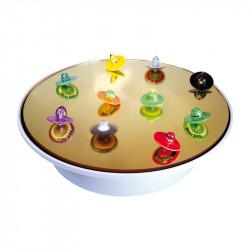 Présentoir rotatif tournant pour fèves Toupies Angry Birds - Épiphanie 2022 - Prime